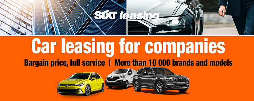 Car leasing for companies | Sixt Leasing